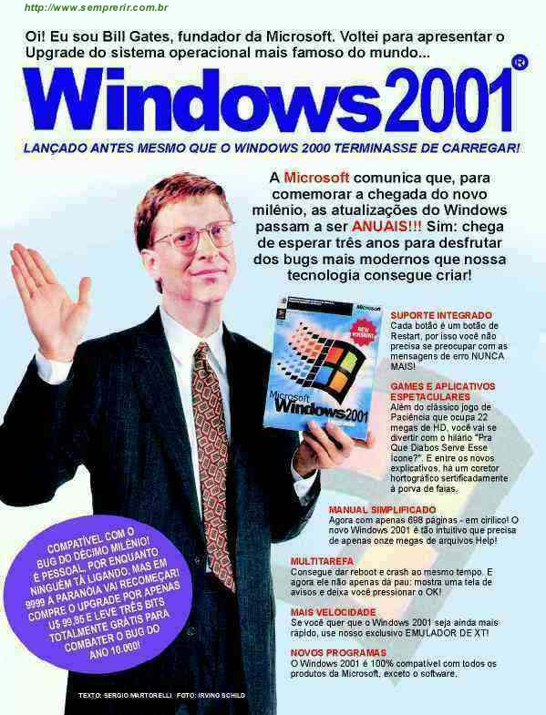 Windows 2001